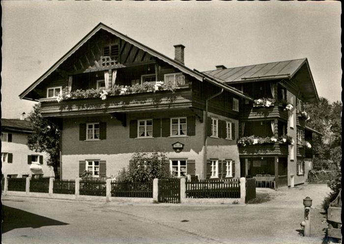 Oberstdorf Fremdenheim Haus Kaufmann / Oberstdorf /Oberallgaeu LKR