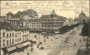 Anvers Antwerpen Avenue de Keyser Strassenbahn /  /