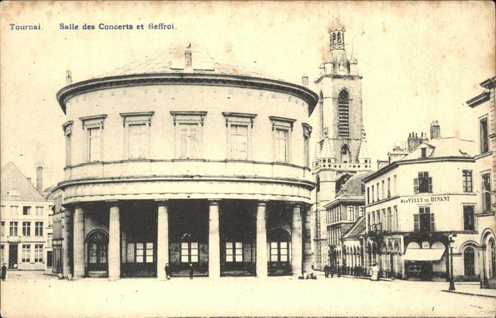 Tournai Hainaut Salle des Concerts et Beffroi Kat.