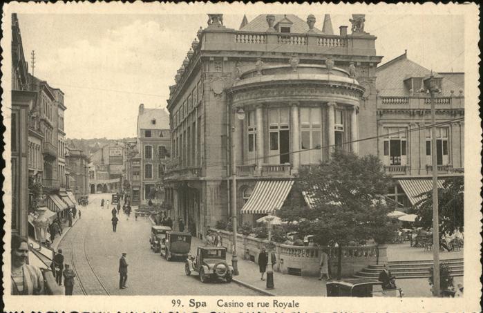 Spa Liege Casino Rue Royale Kat.