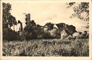 Dargun Mecklenburg-Vorpommern Teilansicht Ruine / Dargun /Demmin LKR