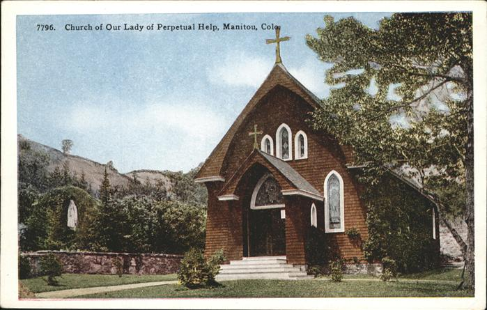 Manitou Colorado Church of Our Lady of Perpetual Help