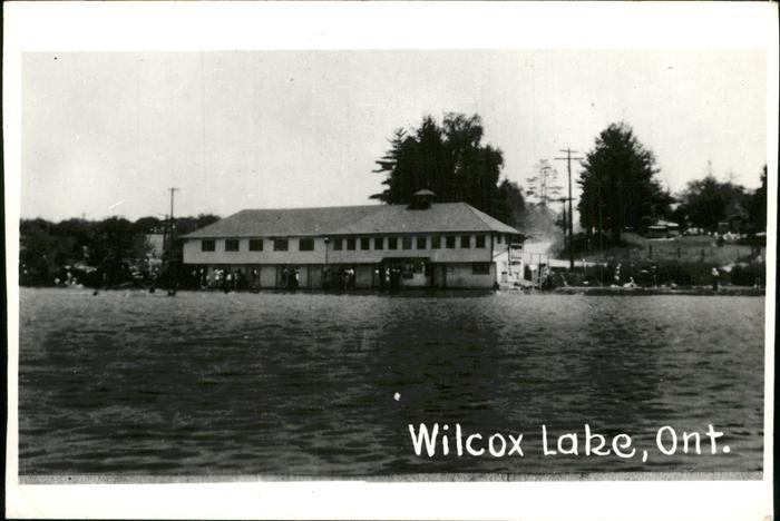 Wilcox Ontario Wilcox Lake