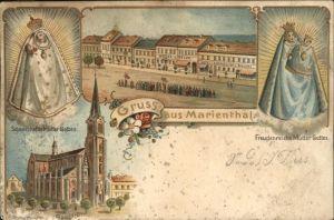 Marienthal Elsass Freudenreiche Mutter Gottes Basilika Schmerzhafte Mutter Gottes Kat. Frankreich