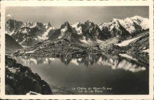 Chamonix La Chaine du Mont Blanc / Chamonix-Mont-Blanc /Arrond. de Bonneville
