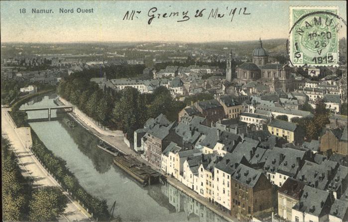 Namur Wallonie Nord Ouest Kat.