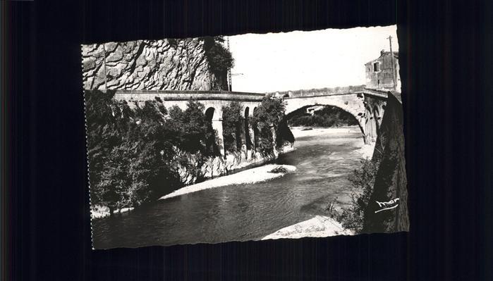 Vaison-la-Romaine Vaucluse Le Pont Romain / Vaison-la-Romaine /Arrond. de Carpentras