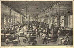 Wandsbek Reichardt Kakao Werk / Hamburg /Hamburg Stadtkreis