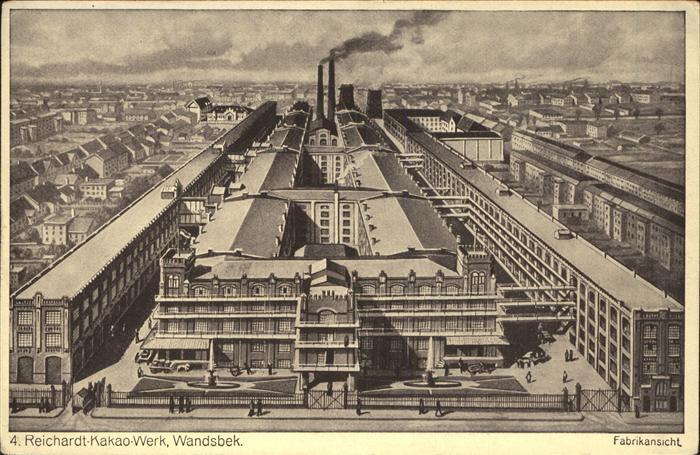 Wandsbek Reichardt Kakao Werk Fabrikansicht / Hamburg /Hamburg Stadtkreis