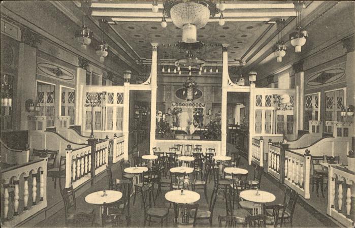 hamburg das orchideen cafe 1954 nr 0069041 oldthing ansichtskarten deutschland plz 20. Black Bedroom Furniture Sets. Home Design Ideas