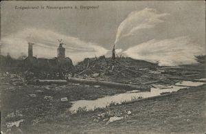 Bergedorf Hamburg Erdgasbrand in Neuengamme / Hamburg /Hamburg Stadtkreis