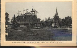 Toronto Canada Horticultural Gardens and Pavilion Carlton Street Kat. Ontario