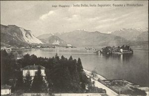 Lago Maggiore Isola Bella Isola Superiore Baveno e Montorfano Kat. Italien