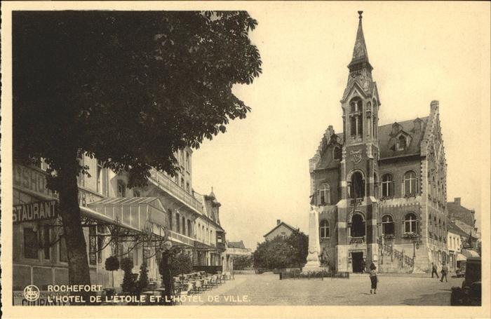 Rochefort Namur Wallonie Hotel de Etoile et Hotel de Ville /  /