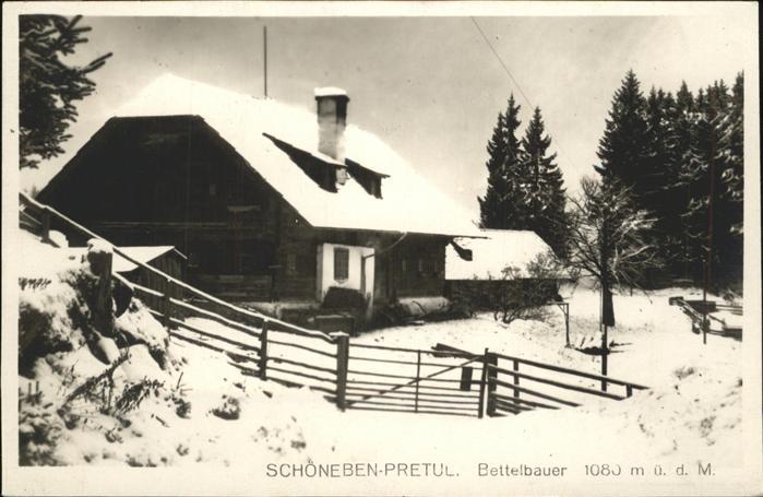 Pretul Schoeneben Bettelbauer
