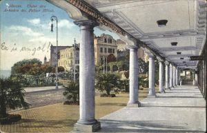 Abbazia Istrien Arkaden des Palace Hotels / Seebad Kvarner Bucht /Primorje Gorski kotar