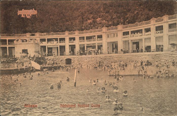 Abbazia Istrien Suedstrand Seebad Quitta / Seebad Kvarner Bucht /Primorje Gorski kotar