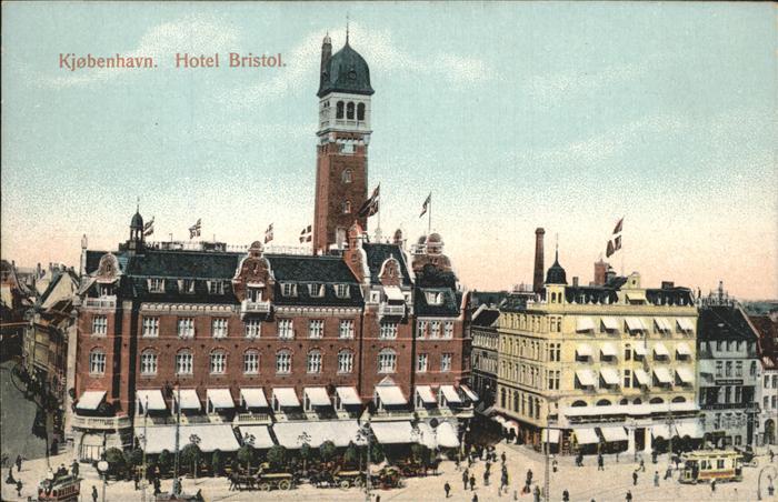 Kjobenhavn Hotel Bristol Kat. Daenemark