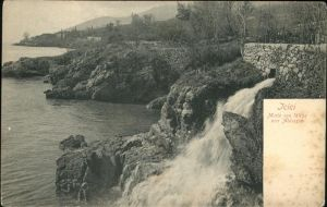 Icici Abbazia Motiv am Wege von Abbazia