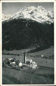 Pettnau Arlberg Panorama Kirche Hoher Riffler Verwallgruppe