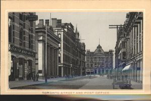 Toronto Canada Street and Post Office Kat. Ontario