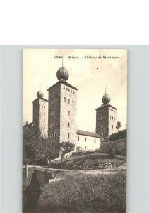 Brigue Chateau de Stockalper Schloss /  /