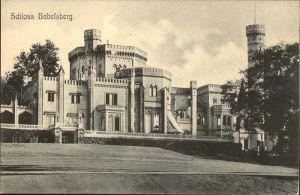 Babelsberg Schloss Babelsberg / Potsdam /Potsdam Stadtkreis