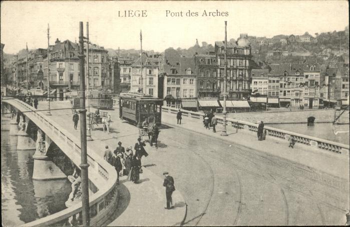 Liege Luettich Pont des Arches Kat. Luettich