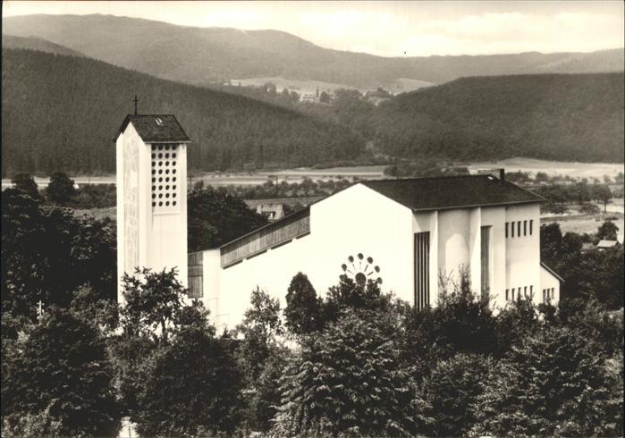 Allendorf Bad Sooden St. Bonifatius Kirche Kat. Bad Soden am Taunus