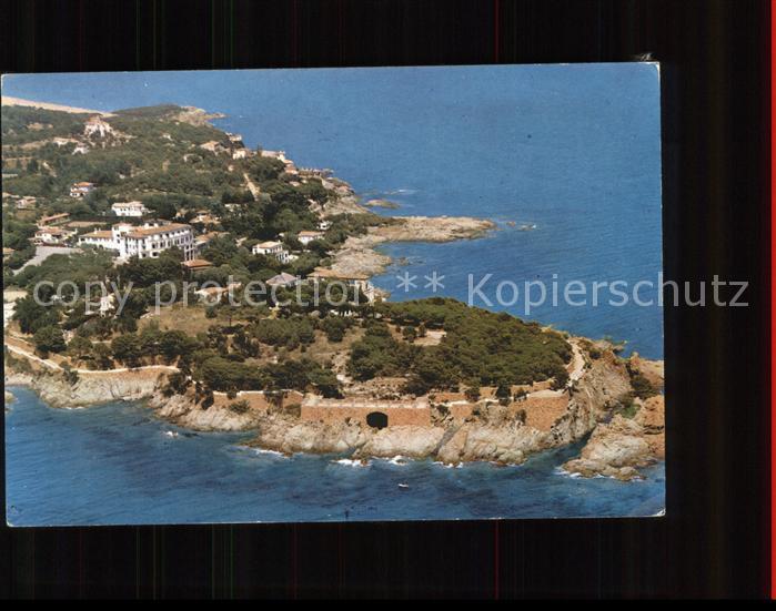 S Agaro Vista aerea Kat. Costa Brava Spanien