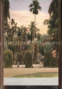 Ceylon = Sri Lanka Parkanlagen Kat.