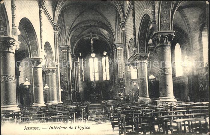 Assesse Interieur de l Eglise Kat.