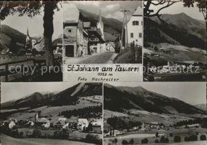 St Johann am Tauern Orts und Teilansichten Strassenpartie