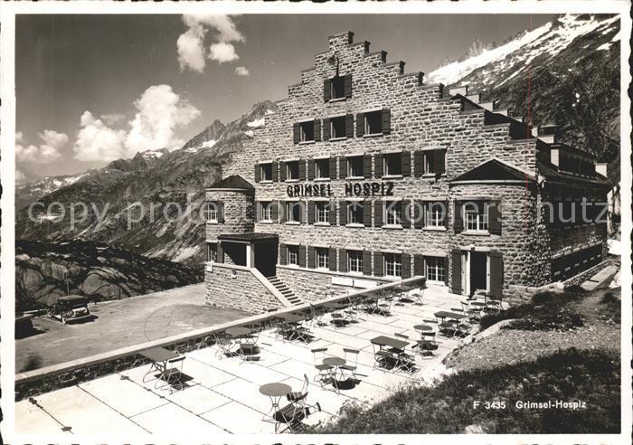 Grimsel Pass Grimsel Hospiz / Grimsel /Rg. Innertkirchen