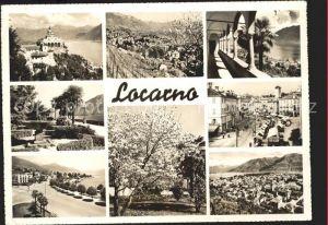 Locarno Madonna del Sasso Teilansichten Piazza Teilansichten / Locarno /Bz. Locarno