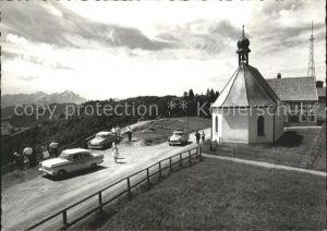 St Anton Oberegg Kirche Autos Saentis Kat. St. Anton
