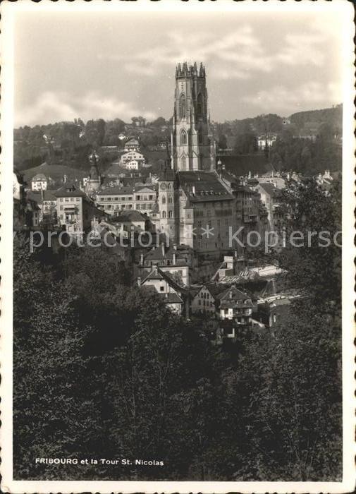 Fribourg FR Tour de Saint Nicolas Kat. Fribourg FR