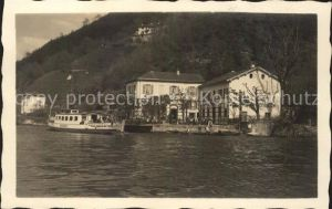 Cavallino TI Caffe Restaurant Pension Faehrboot / Caprino Lago di Lugano /Bz. Lugano City