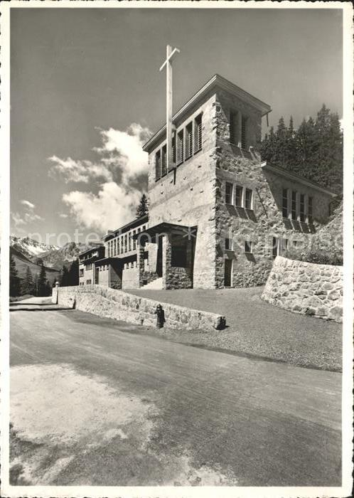 Arosa GR Kath Kirche Kat. Arosa
