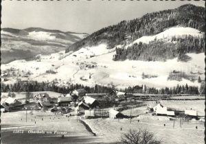 Oberholz Farner Panorama Wintersportplatz Skipiste