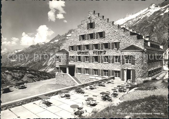 Grimsel Pass Grimsel-Hospiz / Grimsel /Rg. Innertkirchen