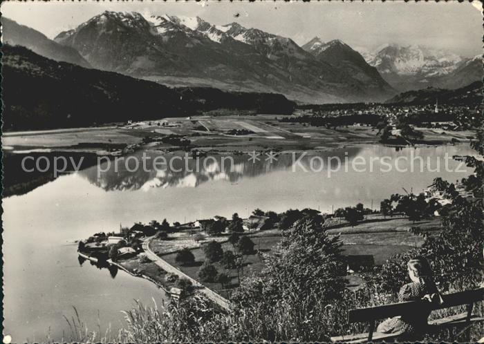 st04108 Berner Oberland BE Berner Alpen Alpachersee Obwaldner