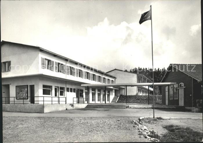 Vennes VD Camp Fahne Kat. Lausanne