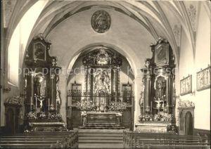 Luzern LU Kapuzinerkloster Wesemlin Klosterkirche / Luzern /Bz. Luzern City