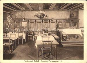 Luzern LU Restaurant Dubeli / Luzern /Bz. Luzern City
