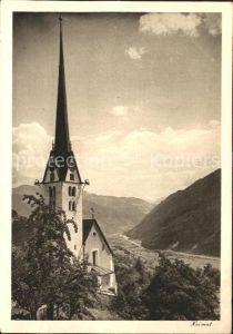 Seewis GR Kirche Kat. Seewis