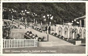 Campione d Italia La Scalinata presso il Casino / Campione d Italia /Como
