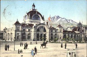 Luzern LU Bahnhof und Pilatus / Luzern /Bz. Luzern City