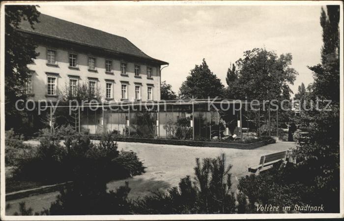 St Gallen SG Voliere im Stadtpark Kat. St Gallen
