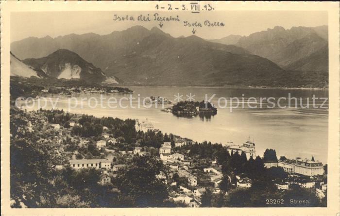 Stresa Lago Maggiore Isola Bella et Isola Pescatori